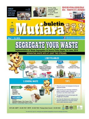 cover image of Buletin Mutiara 1-15 May 2016
