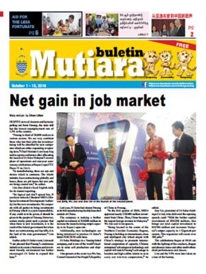 cover image of Buletin Mutiara 1-15 Oct 2016