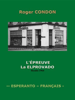 cover image of La Elprovado- Épreuve