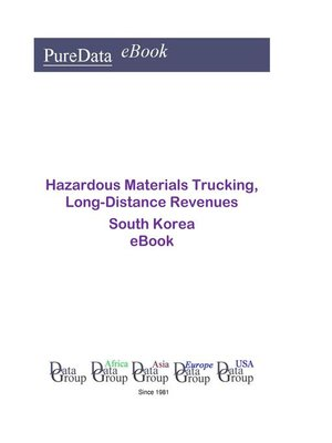cover image of Hazardous Materials Trucking, Long-Distance Revenues in South Korea