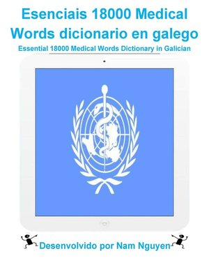 cover image of Esenciais 18000 Medical Words dicionario en galego