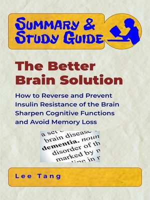 cover image of Summary & Study Guide--The Better Brain Solution