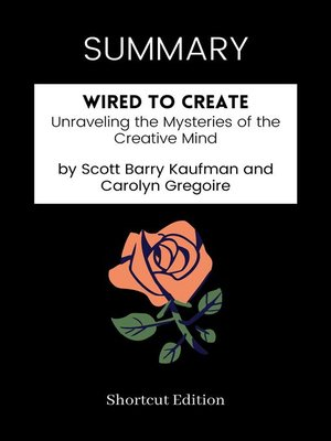 cover image of SUMMARY--Wired to Create