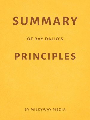 cover image of Summary of Ray Dalio's Principles