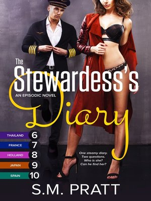 cover image of The Stewardess's Diary--Parts 6-10