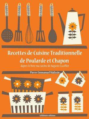 cover image of Recettes de Cuisine Traditionnelle de Poularde et Chapon