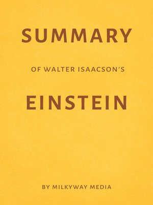 cover image of Summary of Walter Isaacson's Einstein