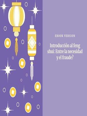 cover image of Introducción al feng shui