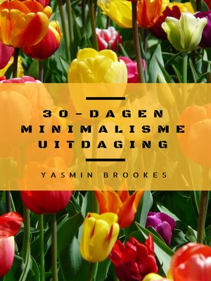 cover image of 30-Dagen Minimalisme Uitdaging