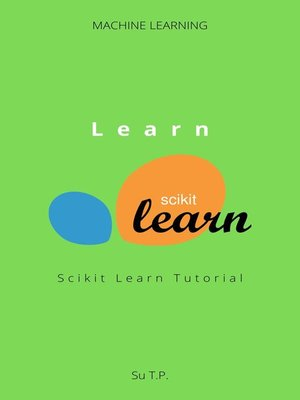 cover image of Learn Scikit Learn
