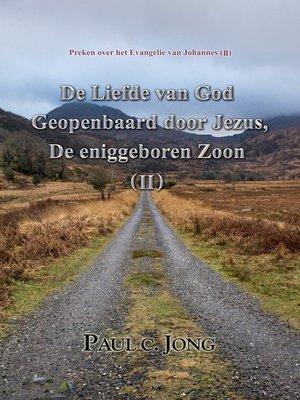 cover image of Preken over het Evangelie van Johannes (II)