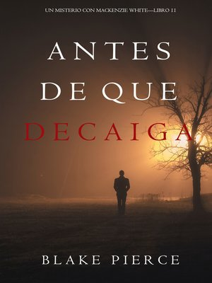 cover image of Antes De Que Decaiga
