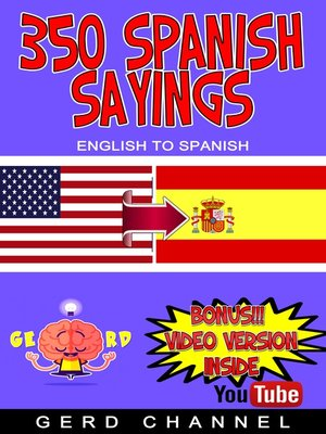 cover image of 350 Spanish Sayings
