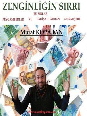 cover image of ZENGİNLİĞİN SIRRI.