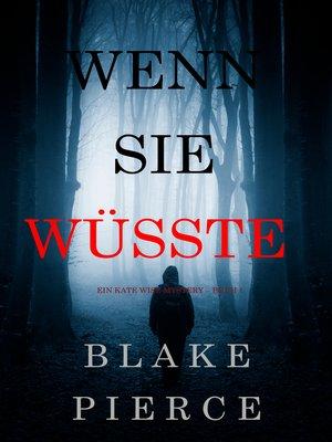 cover image of Wenn Sie Wüsste