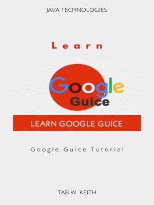 cover image of Learn Google Guice