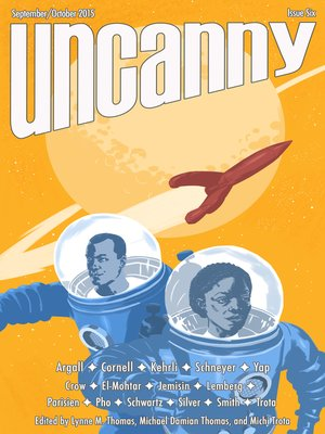 cover image of Uncanny Magazine Issue 6