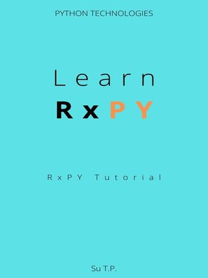 cover image of Learn RxPY