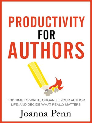 cover image of Productivity For Authors