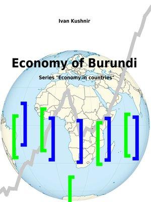 cover image of Economy of Burundi