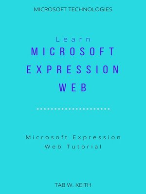 cover image of Learn Microsoft Expression Web