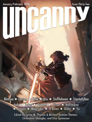 cover image of Uncanny Magazine Issue 32