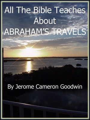 cover image of ABRAHAM'S TRAVELS