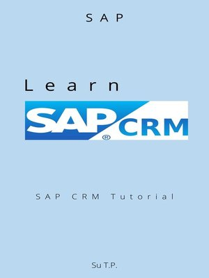 cover image of Learn SAP CRM