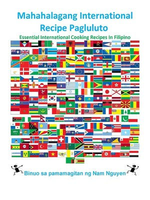 cover image of Mahahalagang International Recipe Pagluluto