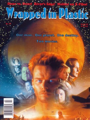 cover image of Issue #51: Wrapped In Plastic Magazine, Book 51