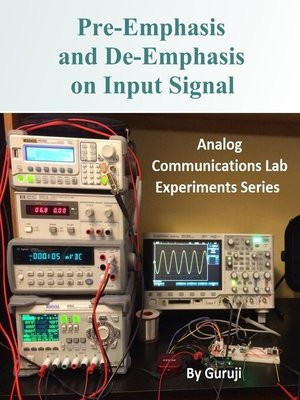cover image of Pre-Emphasis and De-Emphasis on Input Signal