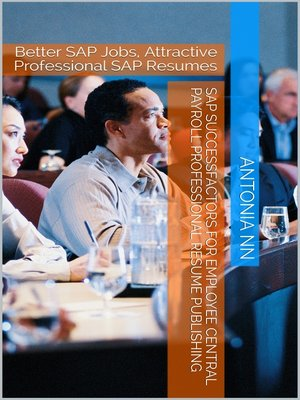 cover image of SAP SuccessFactors for Employee Central Payroll Professional Resume Publishing