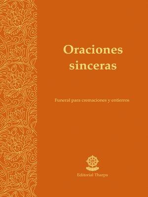 cover image of Oraciones sinceras