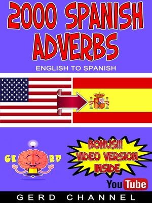 cover image of 2000 Spanish Adverbs
