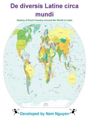 cover image of De diversis Latine circa mundi