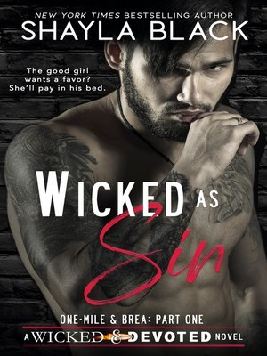 cover image of Wicked as Sin