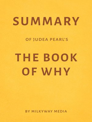 cover image of Summary of Judea Pearl 's the Book of Why