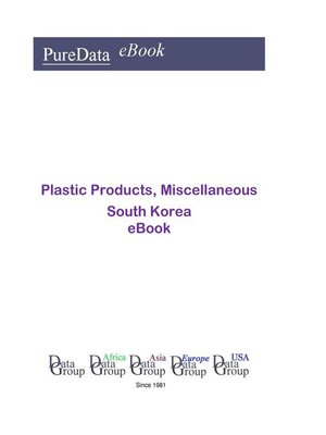 cover image of Plastic Products, Miscellaneous in South Korea