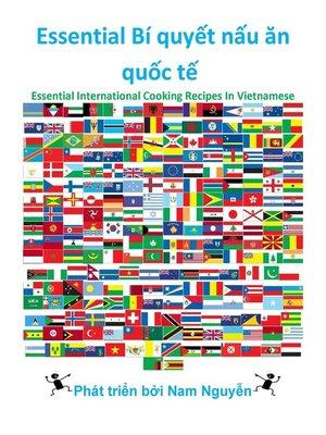 cover image of Essential Bí quyết nấu ăn quốc tế