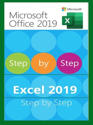 cover image of EXCEL 2019 STEP BY STEP
