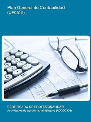 cover image of UF0515--Plan general de Contabilidad