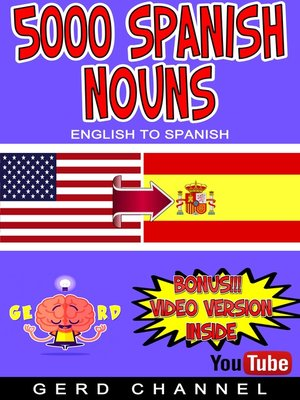 cover image of 5000 Spanish Nouns