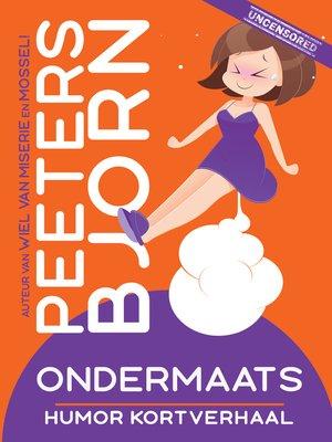 cover image of Ondermaats