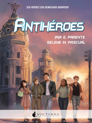 cover image of Antihéroes