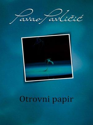 cover image of Otrovni papir