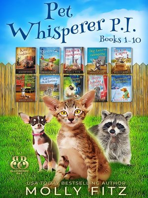 cover image of Pet Whisperer P.I. Mega Boxed Set, Books 1-10