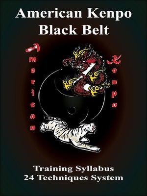 cover image of American Kenpo Black Belt Training Syllubus