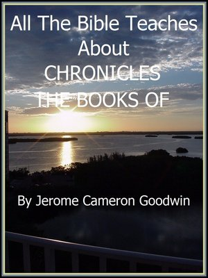 cover image of CHRONICLES, THE BOOKS OF