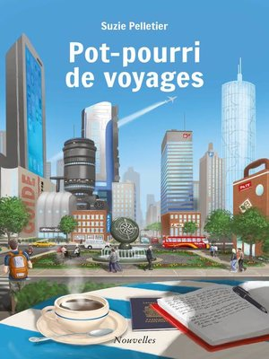 cover image of Pot-pourri de voyages