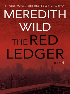 cover image of The Red Ledger, Book 4